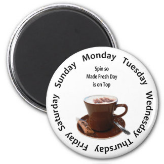 Made Fresh Coffee Tracker Magnet