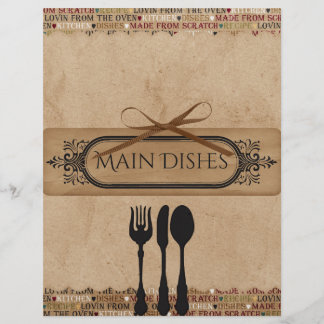 Made From Scratch Recipe Dividers