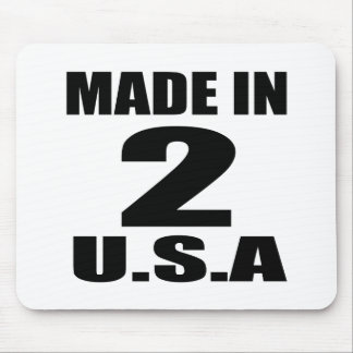 MADE IN 02 U.S.A BIRTHDAY DESIGNS MOUSE PAD