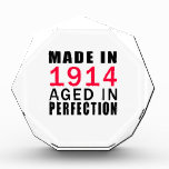 Made In 1914  Aged In Perfection Awards