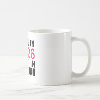 Made In 1926 Aged In Perfection Classic White Coffee Mug