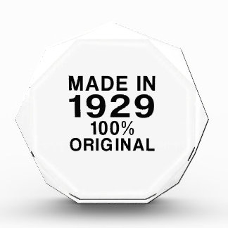Made in 1929 award