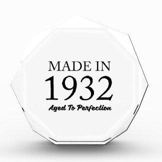 Made In 1932 Award