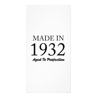 Made In 1932 Card