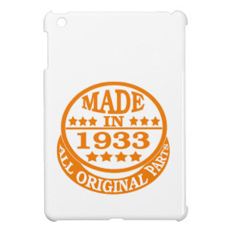 Made in 1933 all original parts case for the iPad mini
