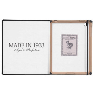 Made in 1933 covers for iPad