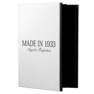 Made in 1933 iPad air cover