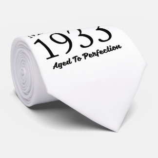 Made In 1933 Neck Tie