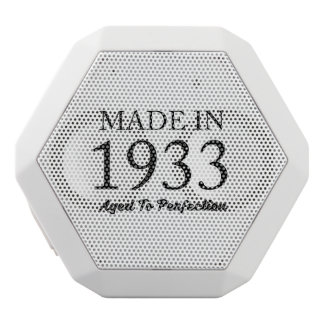 Made In 1933 White Bluetooth Speaker