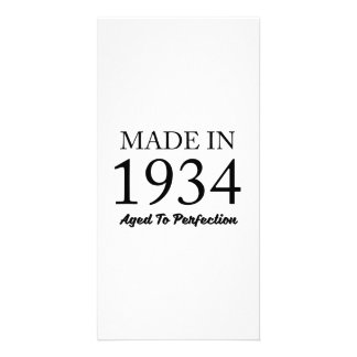 Made In 1934 Card
