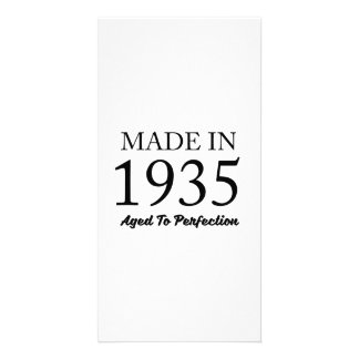 Made In 1935 Card
