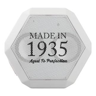 Made In 1935 White Bluetooth Speaker