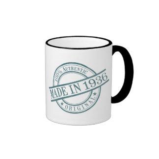Made in 1936 ringer mug