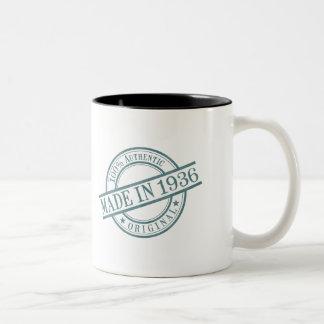 Made in 1936 Two-Tone coffee mug