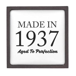 Made In 1937 Keepsake Box