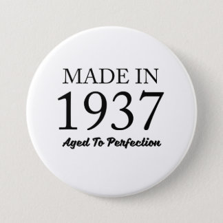 Made In 1937 Pinback Button