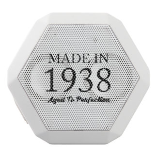 Made In 1938 White Bluetooth Speaker