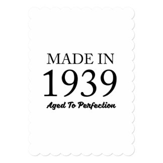 Made In 1939 Card