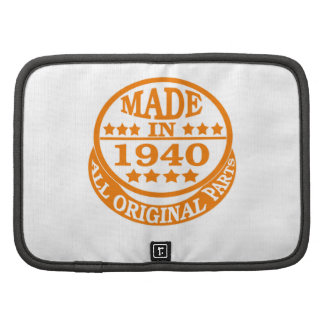 Made in 1940 all original parts folio planners