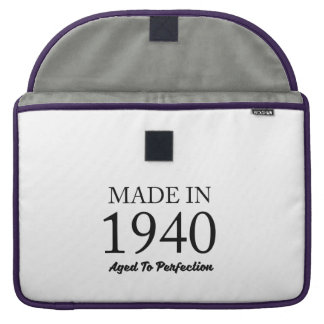 Made In 1940 Sleeve For MacBooks
