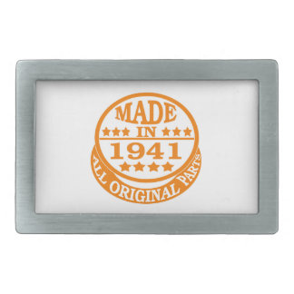 Made in 1941 all original parts belt buckles
