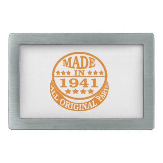Made in 1941 all original parts belt buckle