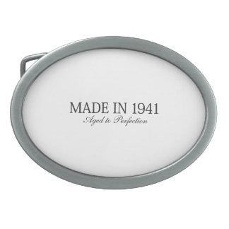 Made in 1941 belt buckle