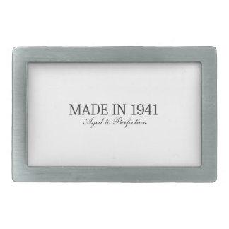 Made in 1941 rectangular belt buckle