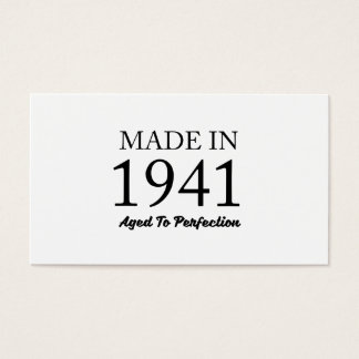 Made In 1941 Business Card