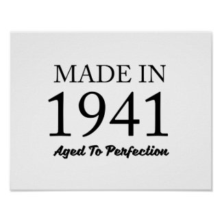 Made In 1941 Poster