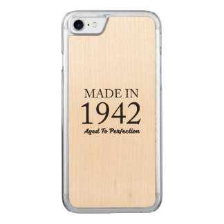 Made In 1942 Carved iPhone 8/7 Case