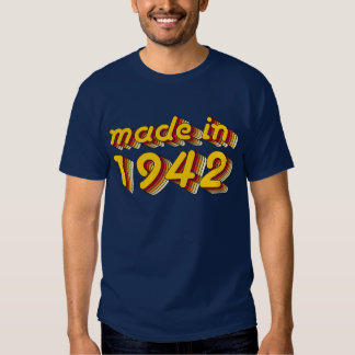 Made in 1942 (Yellow&Red) Shirt