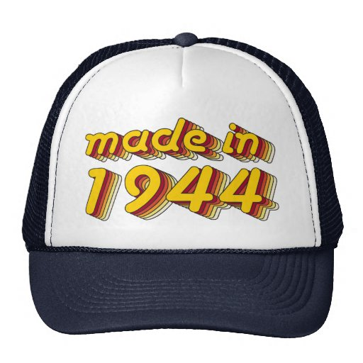 Made in 1944 (Yellow&Red) Trucker Hat
