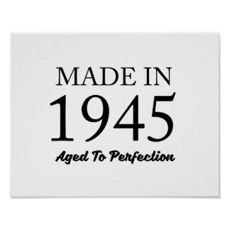 Made In 1945 Poster