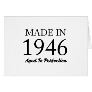 Made In 1946 Card