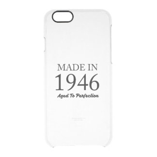 Made In 1946 Clear iPhone 6/6S Case