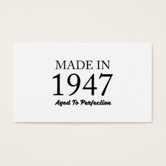 Made In 1947 Business Card