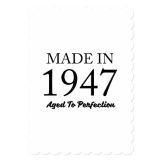 Made In 1947 Card