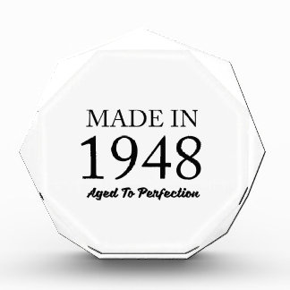 Made In 1948 Acrylic Award