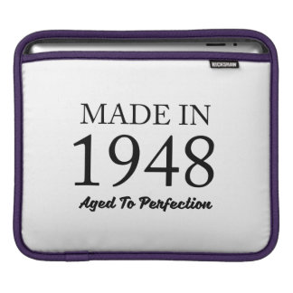Made In 1948 Sleeve For iPads