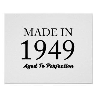 Made in 1949 poster