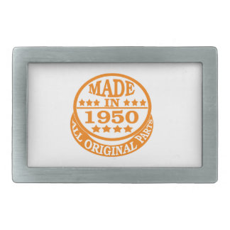 Made in 1950 all original parts belt buckle