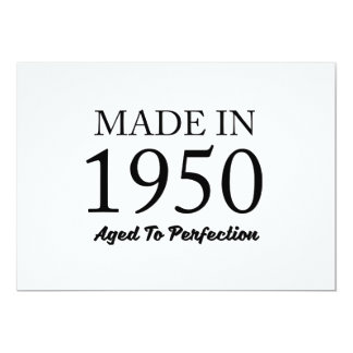Made In 1950 Card