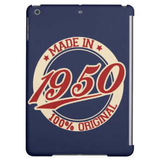 Made In 1950 iPad Air Covers