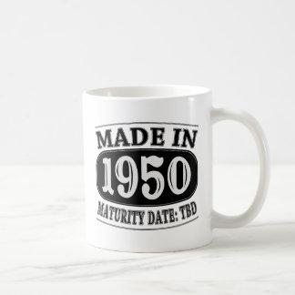 Made in 1950 - Maturity Date TDB Coffee Mug