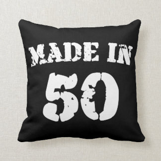 Made In 1950 Throw Pillow
