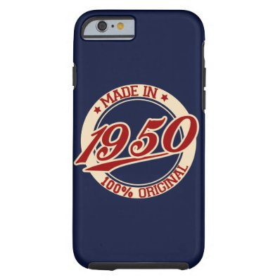Made In 1950 Tough iPhone 6 Case