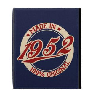 Made In 1952 iPad Folio Case