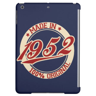 Made In 1952 Cover For iPad Air