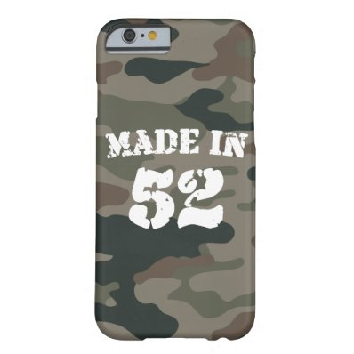 Made In 1952 iPhone 6/6s Barely There iPhone 6 Case
